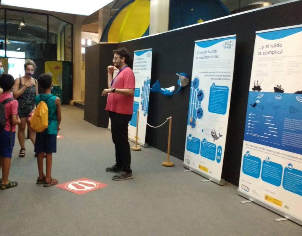 Exposición Ruido Submarino en el Museo de la Ciencia y el Agua