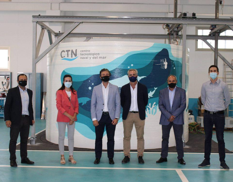 El Presidente de FREMM visita las instalaciones de CTN