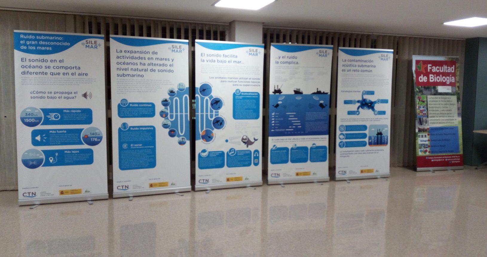 Exposición SILEMAR - Facultad de Biología (UMU)
